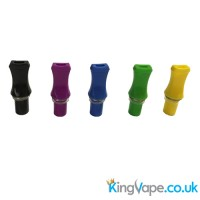 Flat screw fit drip tip