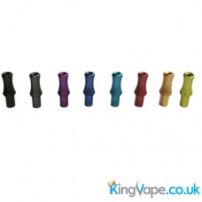 Screw fit metal drip tip