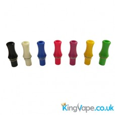 Screw fit solid color drip tip
