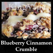 Blueberry Cinnamon Crumble 10ml NICOTINE FREE