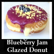 Blueberry Jam Glazed Donut 10ml NICOTINE FREE