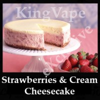 DIwhY Strawberries and Cream Cheesecake - Same Flavour Volume Saver (120ml, 210ml and 300ml)