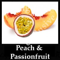 Peach and Passion Fruit 10ml NICOTINE FREE
