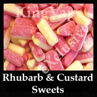 Rhubarb And Custard Sweets 10ml NICOTINE FREE