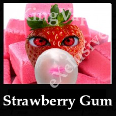 Strawberry Gum 10ml NICOTINE FREE