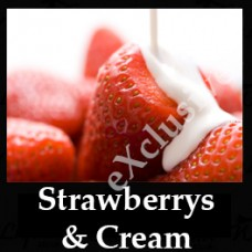 Strawberries and Cream 10ml NICOTINE FREE
