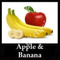 Apple and Banana 10ml NICOTINE FREE