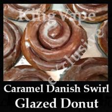 Caramel Danish Swirl Glazed Donut 10ml NICOTINE FREE