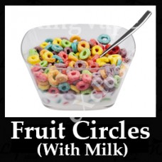 DIwhY Fruit Circles (With Milk) - Same Flavour Volume Saver (120ml, 210ml and 300ml)