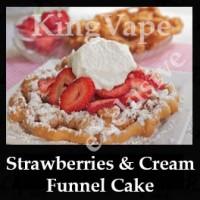Strawberries and Cream Funnel Cake 10ml NICOTINE FREE