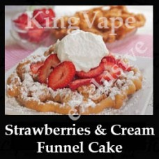 DIwhY Strawberries and Cream Funnel Cake - Same Flavour Volume Saver (120ml, 210ml and 300ml)