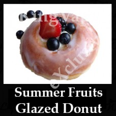 Summer Fruits Glazed Donut 10ml NICOTINE FREE