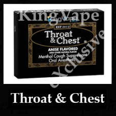 Throat and Chest 10ml NICOTINE FREE