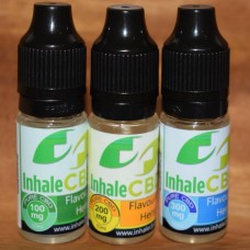 Inhale CBD+ Flavourless Hemp 10ml