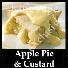DIwhY Apple Pie and Custard - Same Flavour Volume Saver (120ml, 210ml and 300ml)