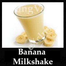 DIwhY Banana Milkshake - Same Flavour Volume Saver (120ml, 210ml and 300ml)