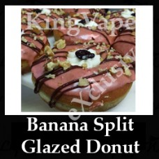 DIwhY Banana Split Glazed Donut  - Same Flavour Volume Saver (120ml, 210ml and 300ml)