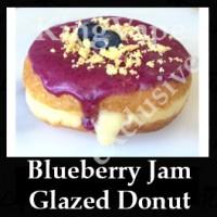 Blueberry Jam Glazed Donut 10ml NICOTINE FREE
