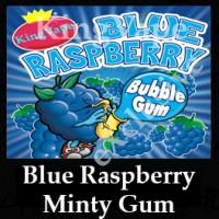 BlueRaspberry Minty Bubblegum 10ml NICOTINE FREE