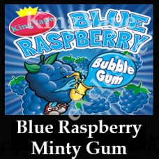 BlueRaspberry Minty Bubblegum 10ml NICOTINE FREE