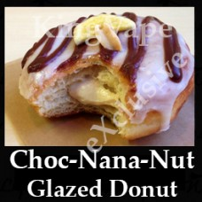 DIwhY Choc Nana Nut Glazed Donut - Same Flavour Volume Saver (120ml, 210ml and 300ml)