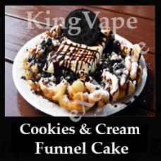 Cookies and Cream Funnel Cake 10ml NICOTINE FREE